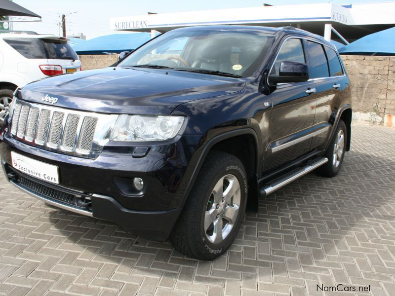 used jeep grand cherokee 5 7 v8 overland 4x4 2011 grand. Black Bedroom Furniture Sets. Home Design Ideas
