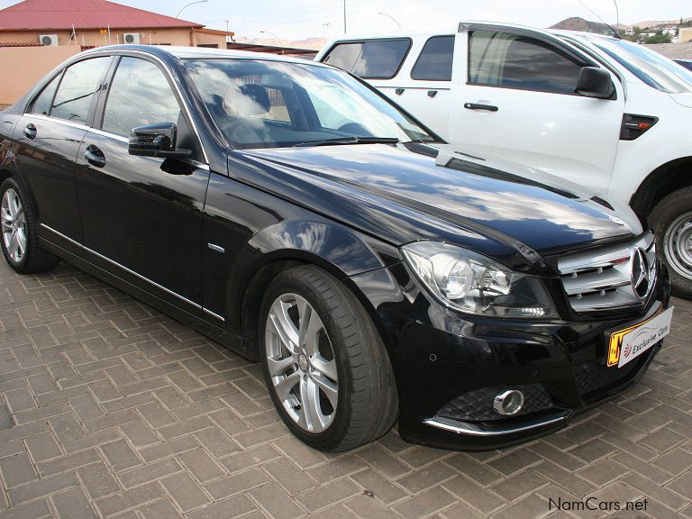 used mercedes benz c200 be avantgarde a t 2012 c200 be. Black Bedroom Furniture Sets. Home Design Ideas