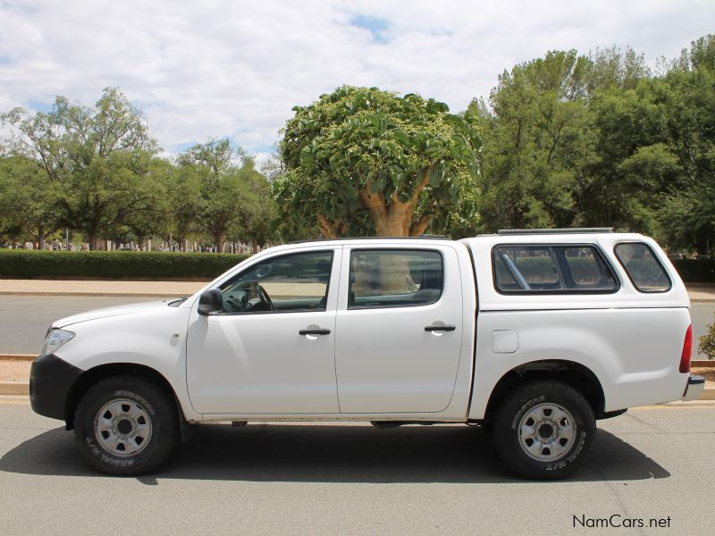 Used Toyota Hilux Bakkie 2 5 4x4 D cab