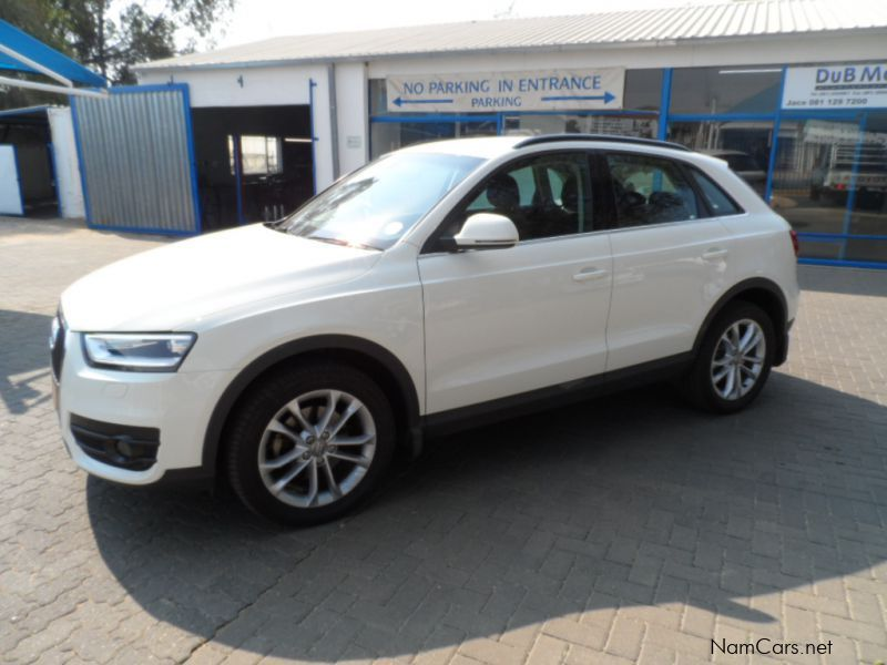 used audi q3 2 0 tdi quattro s tronic 2013 q3 2 0 tdi quattro s tronic for sale windhoek. Black Bedroom Furniture Sets. Home Design Ideas
