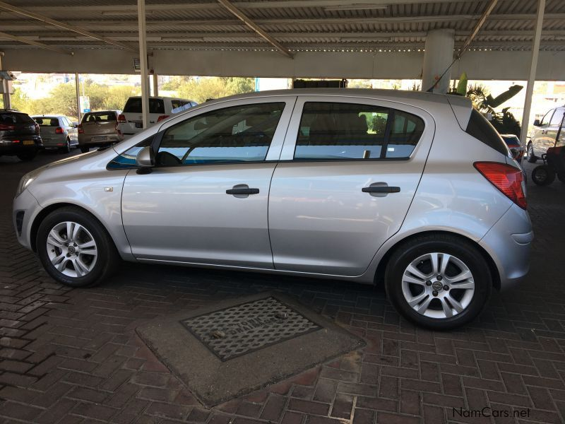 used opel corsa essentia 1 4 manual 2013 corsa essentia 1 4 manual for sale windhoek opel. Black Bedroom Furniture Sets. Home Design Ideas