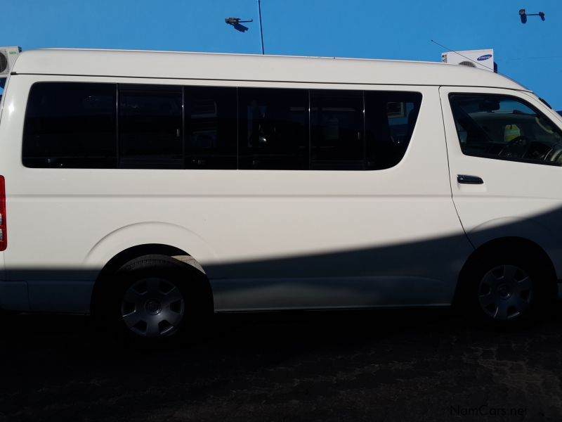 used toyota 2 7 bus 10 seater 2013 2 7 bus 10 seater for. Black Bedroom Furniture Sets. Home Design Ideas