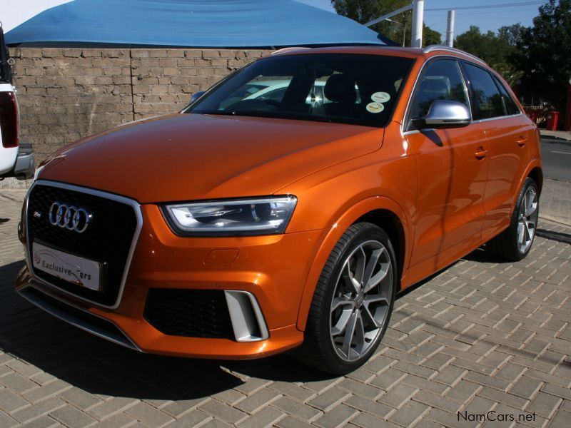 used audi q3 rs 2 5 tfsi quattro a t 2014 q3 rs 2 5 tfsi quattro a t for sale windhoek audi. Black Bedroom Furniture Sets. Home Design Ideas