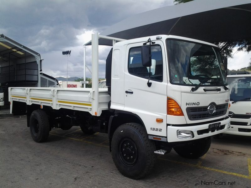 New Hino 500 1322 4x4 Dropside | 2014 500 1322 4x4 Dropside for sale