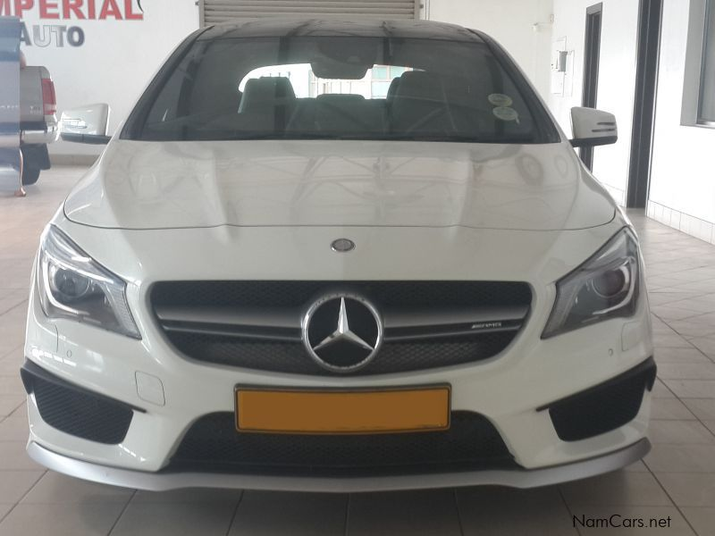 Used mercedes benz cla 45 amg 2014 cla 45 amg for sale for Cla mercedes benz for sale