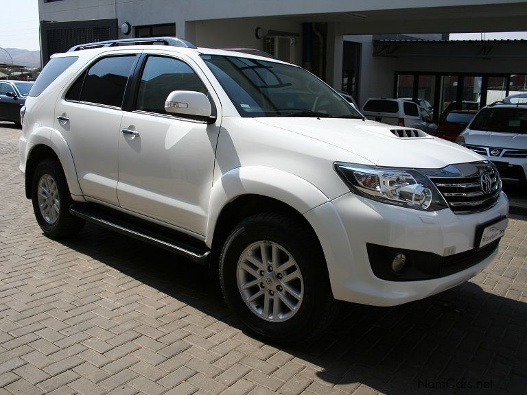 Used Toyota Fortuner 3 0 D4d 4x4 A T 2014 Fortuner 3 0 D4d 4x4 A T For Sale Windhoek Toyota
