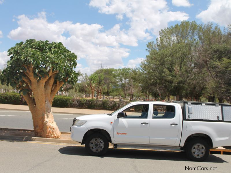 Toyota Hilux in Namibia