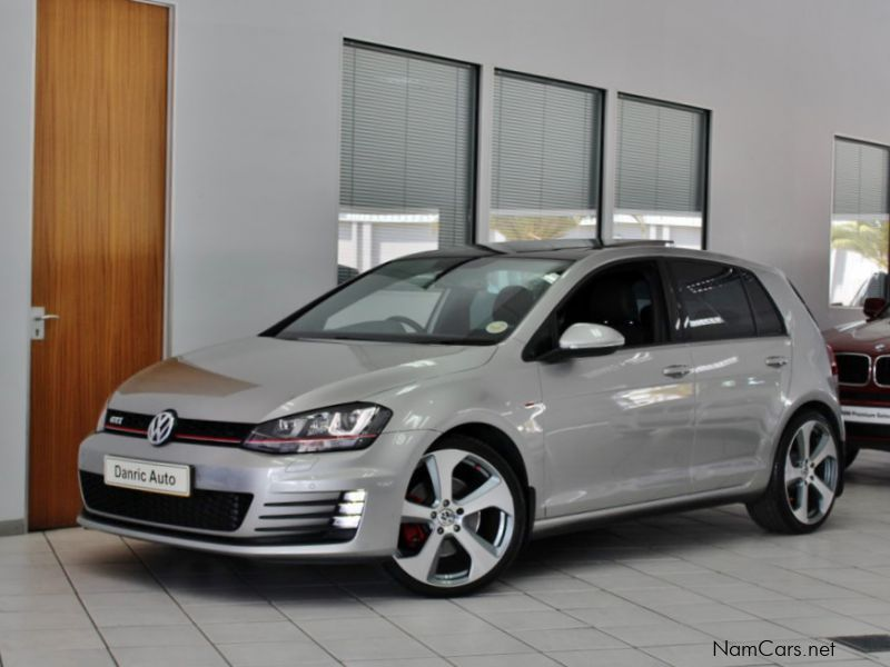 used volkswagen golf 7 gti dsg 2014 golf 7 gti dsg for. Black Bedroom Furniture Sets. Home Design Ideas