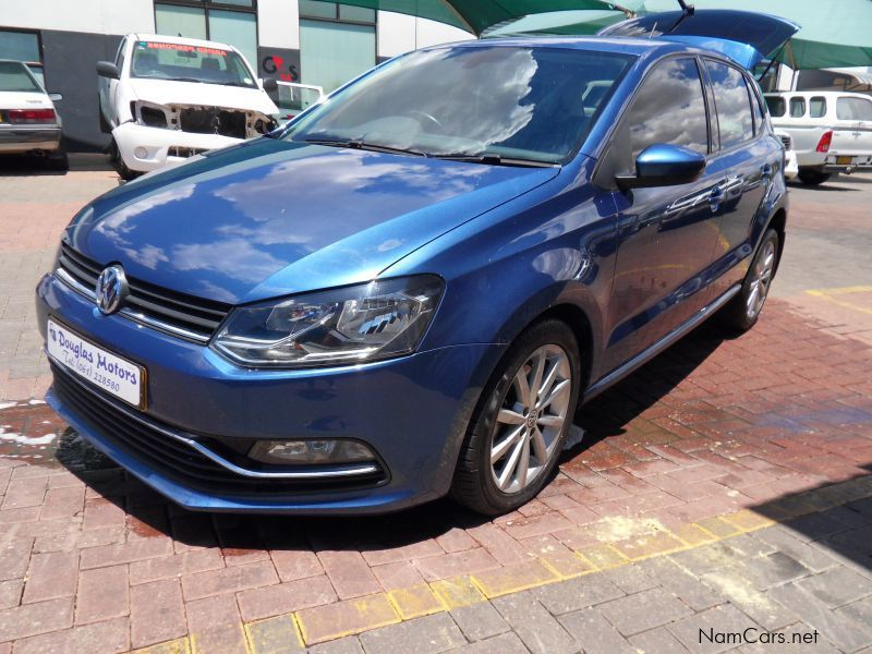 used volkswagen polo 1 2 tsi dsg highline 2014 polo 1 2 tsi dsg highline for sale windhoek. Black Bedroom Furniture Sets. Home Design Ideas