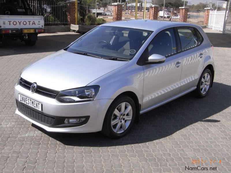 used volkswagen vw polo 1 6 tdi comfortline 2014 vw polo. Black Bedroom Furniture Sets. Home Design Ideas