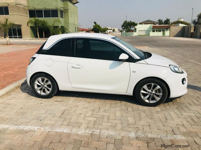 Opel ADAM in Namibia