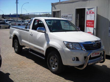 Used Toyota Hilux Legend 45 S C 2 7 Vvti 2015 Hilux