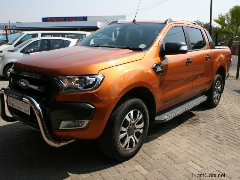 Used Ford Ranger D Cab 3 2 Wildtrack 4x4 A T 2016 Ranger
