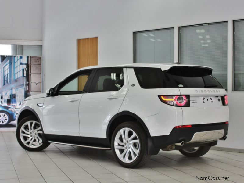 used land rover discovery sport hse luxury 2016. Black Bedroom Furniture Sets. Home Design Ideas