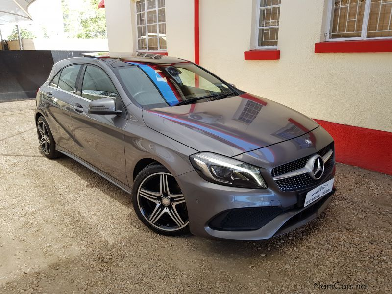 used mercedes benz a200 amg a t 2016 a200 amg a t for sale windhoek mercedes benz a200 amg a. Black Bedroom Furniture Sets. Home Design Ideas