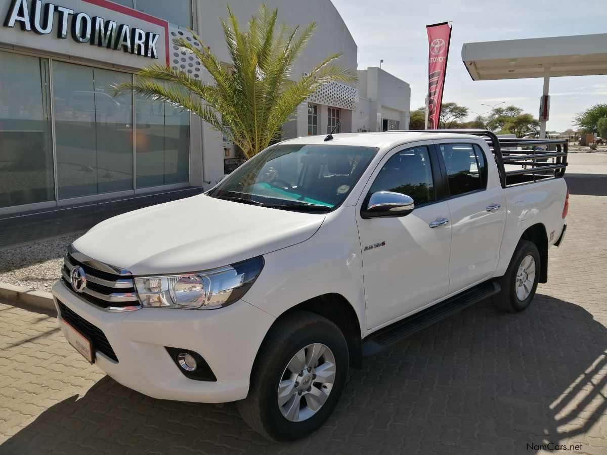 Toyota HILUX DC 2.8 GD6 RB RAIDER in Namibia
