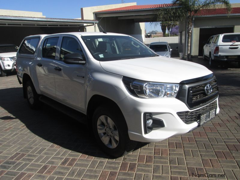 Toyota Hilux 2.4 GD-6 D/C Raider SRX in Namibia