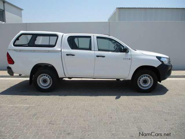 Toyota 2.4 GD6 HILUX DC 4X4 SR MT in Namibia
