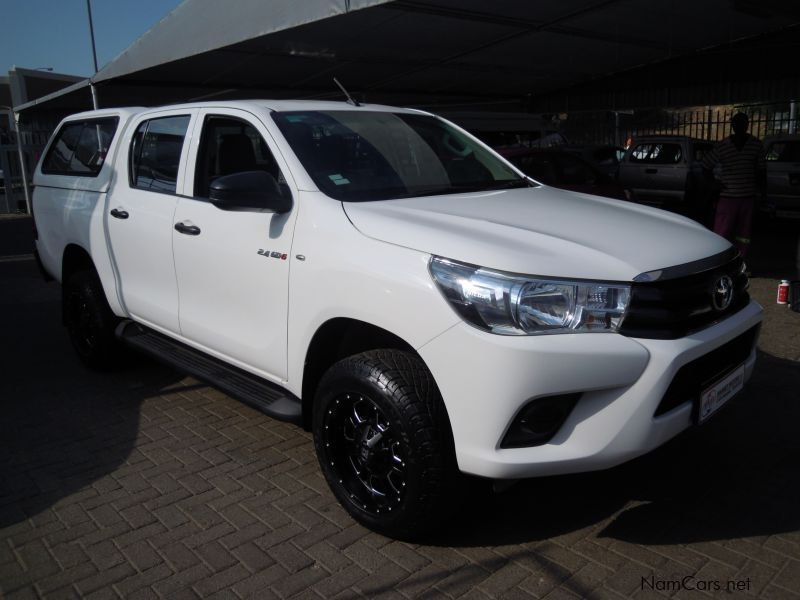 Pre-owned Toyota HILUX 2.4 GD-6 D/CAB 4X4 SRX for sale in
