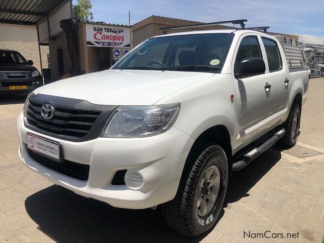 Pre-owned Toyota Hilux 2.5 D4D 4x4 D/C manual for sale in