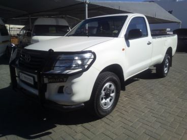 Pre-owned Toyota HILUX 2.5D4D S/CAB 4X4 for sale in