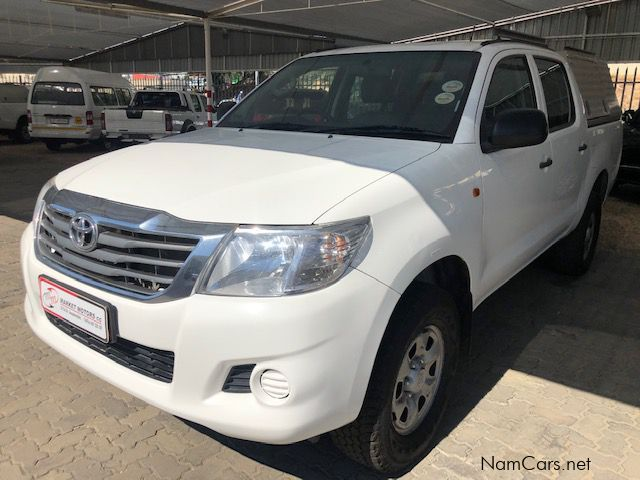 Pre-owned Toyota Hilux 2.5 D4D SRX 4x4 D/C manual for sale in