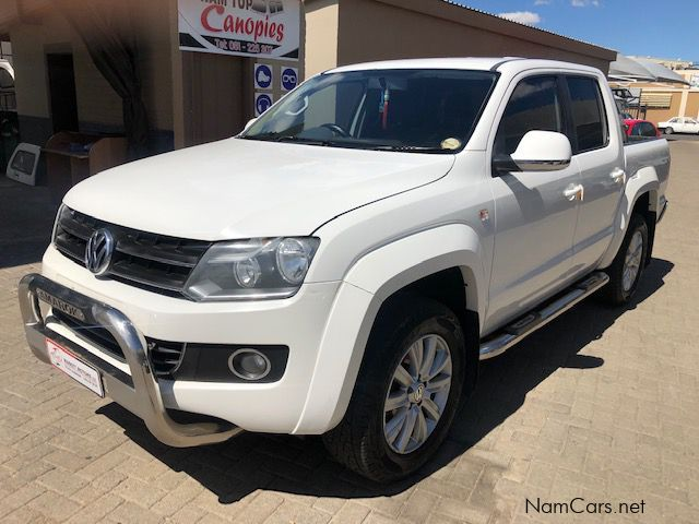 Pre-owned Volkswagen Amarok 2.0 BiTDi 4Mot D/C for sale in