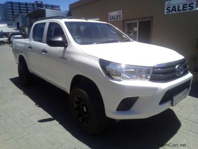 Pre-owned Toyota HILUX 2.4 GD-6 SRX D/CAB 4X4 for sale in