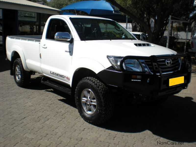 Pre-owned Toyota Hilux 3.0 D4D 4x2 R/B S/Cab Legend 45 for sale in