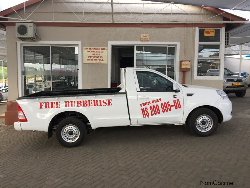 Pre-owned Foton Tunland 2.8 S/C Onroad Brand New for sale in Windhoek