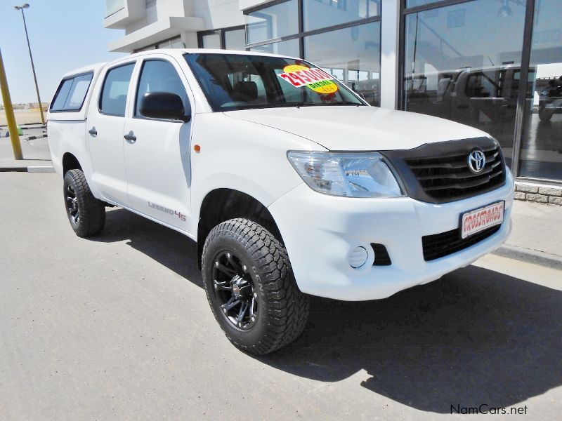 Pre-owned Toyota Hilux 2.5 D4D SRX D/C 4X4 for sale in