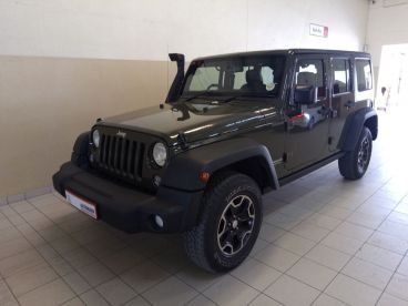Pre-owned Jeep WRANGLER UNLTD RUBICON 3.6 I V6 A/T for sale in