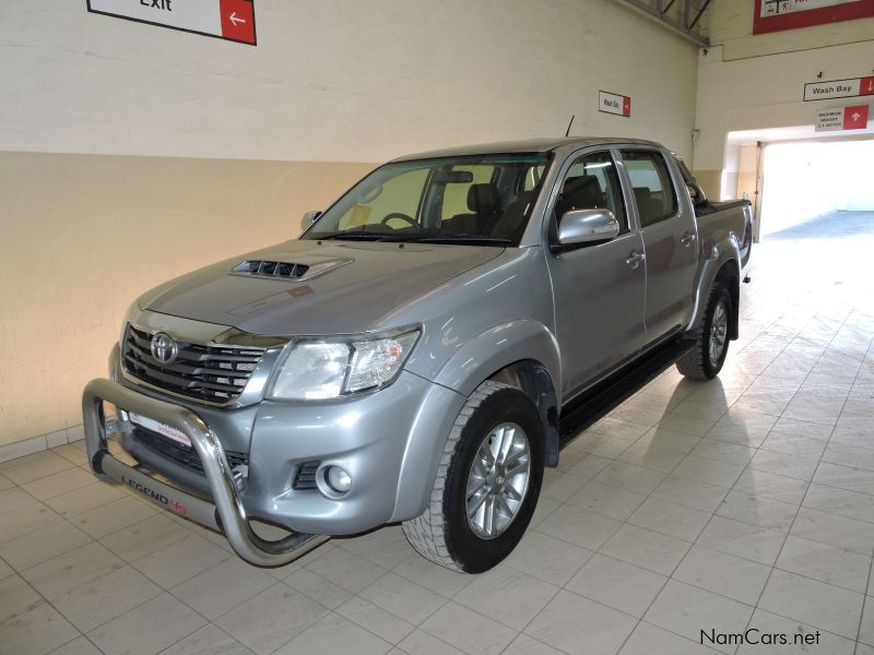 Pre-owned Toyota Hilux 2.5 D4D Legend 45 D/Cab for sale in