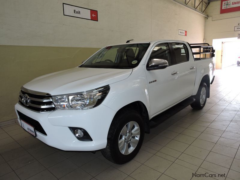 Pre-owned Toyota Hilux 2.8 GD6 PU DC for sale in