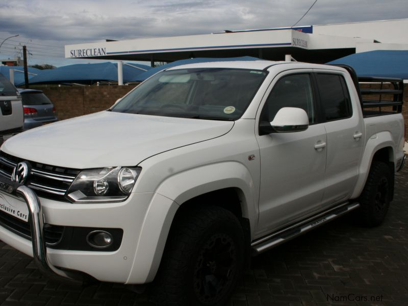 Pre-owned Volkswagen Amarok D/Cab 2.0 BiTDi 4x4 highline a/t 132 KW for sale in