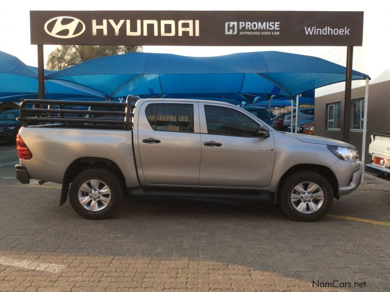 Pre-owned Toyota Hilux D/cab 2.4 GD6 RB SRX M/T for sale in