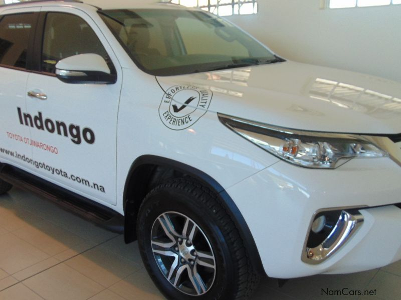 Pre-owned Toyota FORTUNER 2.4 GD-6 RB 6MT for sale in