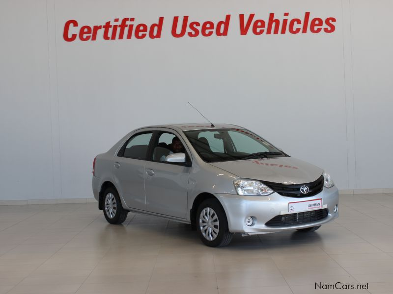 Pre-owned Toyota Etios xi for sale in