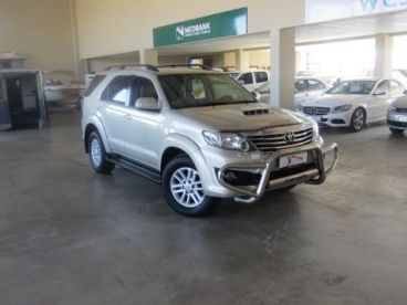 Pre-owned Toyota Fortuner 3.0 D-4D 4x4 for sale in