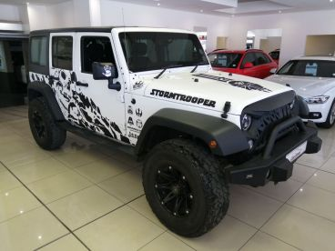 Pre-owned Jeep Wrangler Rubicon 3.6 Unltd A/T 4x4 for sale in