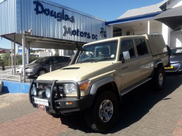 Pre-owned Toyota Land Cruiser 4.5 V8 D/C for sale in