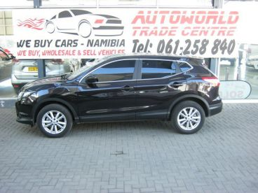 Pre-owned Nissan Qashqai 1.2 T Visia for sale in
