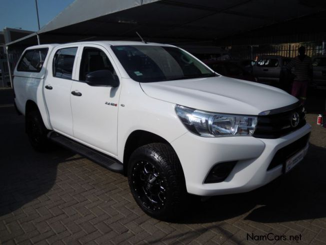 Pre-owned Toyota Hilux 2.4 GD6 4x4 D/C 4x4 D4D for sale in