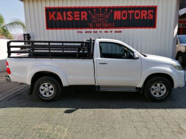 Pre-owned Toyota Hilux 2.7 vvti for sale in