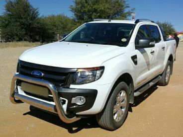 Pre-owned Ford Ranger WILDTRAK 3.2 TURBO DIESEL DOUBLE CAB 4X4 AUTOMATIC for sale in