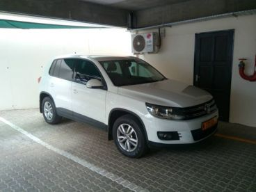 Pre-owned Volkswagen Tiguan 1.4 TSI B/Motion Trend/Fun 118kw for sale in