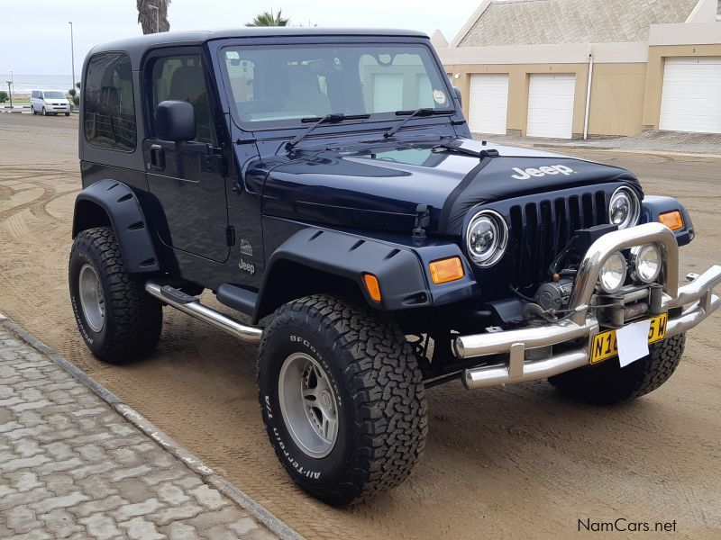 Pre-owned Jeep wrangler 4.0L petrol for sale in