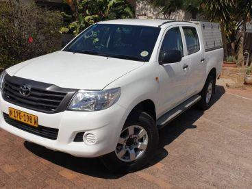 Pre-owned Toyota Hilux SRX Double Cab 4x4 for sale in