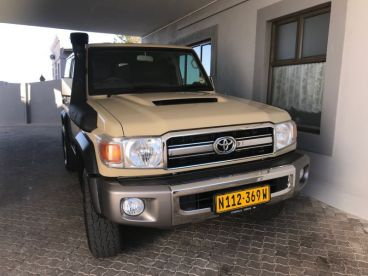 Pre-owned Toyota Landcruiser 76 Series for sale in