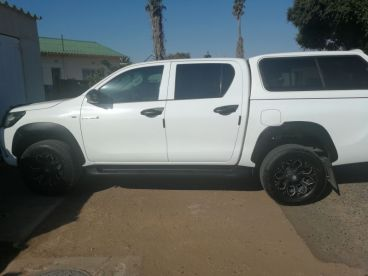 Pre-owned Toyota Hilux 2.4 GD6 for sale in